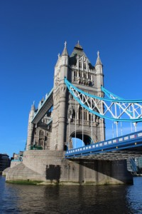 Tower Bridge in London beim Au Pair