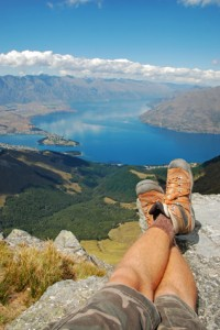 Au Pair in neuseeland auf dem Berg