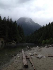 Besuch einer Sees in Kanada beim Au Pair