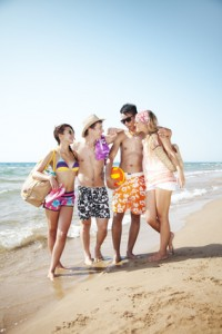 Abifahrt in Italien, Rimini, Venedig feiern und baden